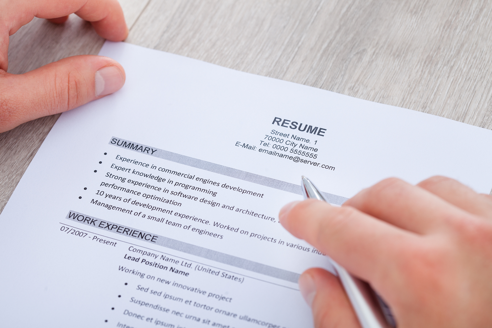 the dos and don ts of writing a resume