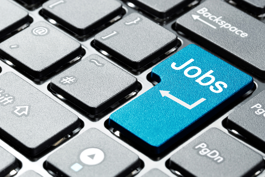 Job Button On Keyboard | Jobs Near Me | Infinity Staffing Services