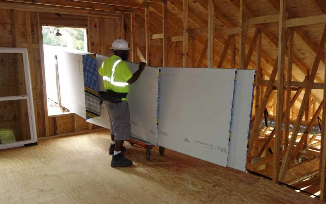 SHEETROCK/DRYWALL STACKERS